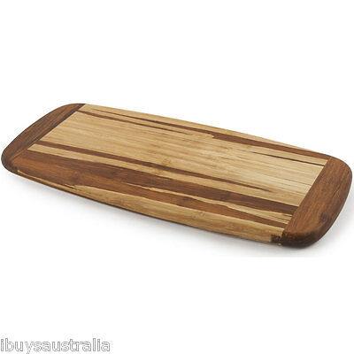 Core Bamboo Crushed Long Cutting Serving Presentation Board Tray Platter CBKT495
