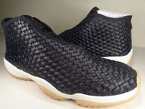 best sneakers 19876 68772 Image is loading Nike-Air-Jordan-Future-Premium-Black-Sail-Gum-