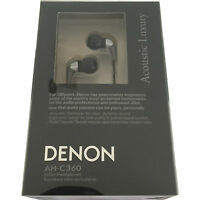Denon Ah-c360 In-ear Headphones (silver) Iphone Ipad Or Android Compatible