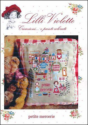 10% Off Lilli Violette Counted X-stitch Chart - Petite Mercerie