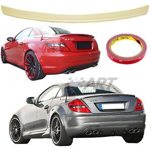 Aleron para Mercedes Slk R171 2004-2010 Spoiler alerón de plástico Abs + 3M