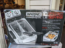 New Listingwaring Commercial Wdf1000 120 Volt Heavy Duty 10 Lbs Single Electric Deep Fryer
