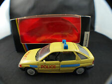 Schabak 1090 Ford Sierra Police South Africa Afrique 1/43 neuf mint boxed rare