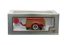 1:18 1939 Chevy Wood Wagon Trailer Red Motorcity Classic