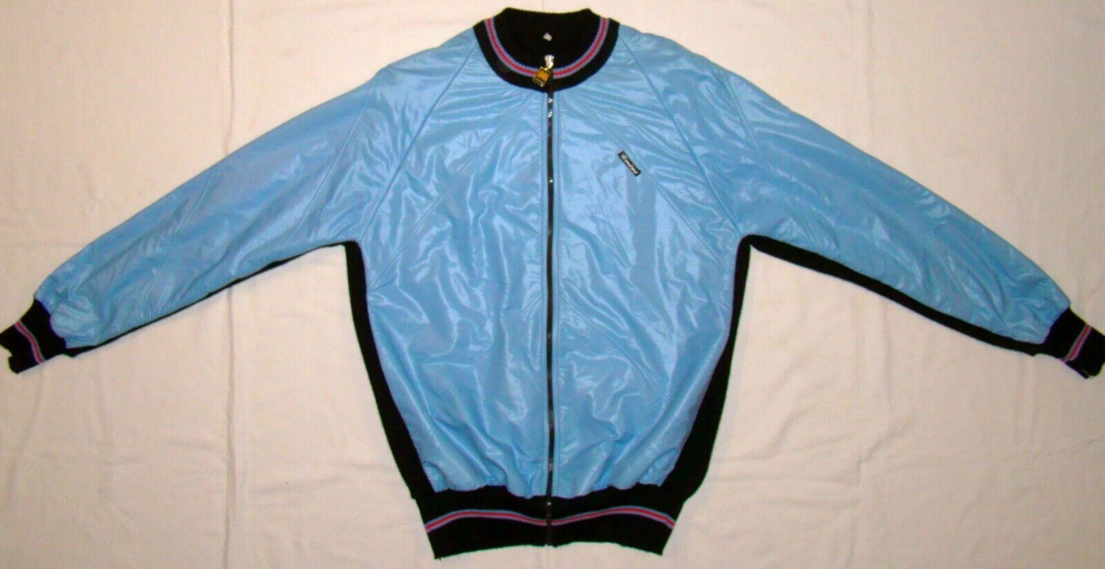 Vintage NOS Santini Heavyweight Wool Winter Road Cycling Jacket   L - XL as NEW