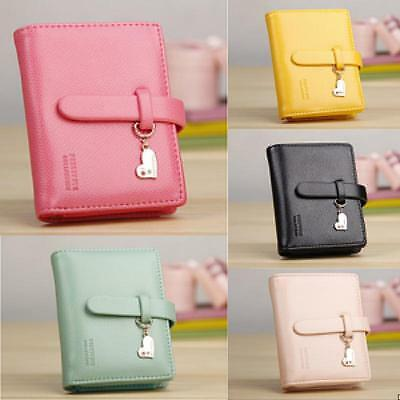 fashion lady women lovely purse clutch wallet small bag PU Leather card holder