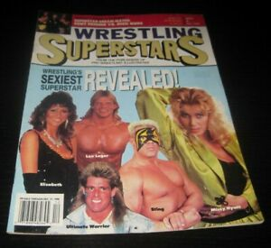 Vintage Wrestling Superstars Magazine Wrestler WCW WWE WWF Sting Lex Luger 1990