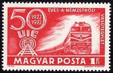 Hungría 1972 Trenes/Ferrocarriles desmontado como nuevos Freepost