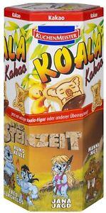 100g 1 99 Kuchenmeister Koala Kekse Kakao Creme Fullung 75g Ebay