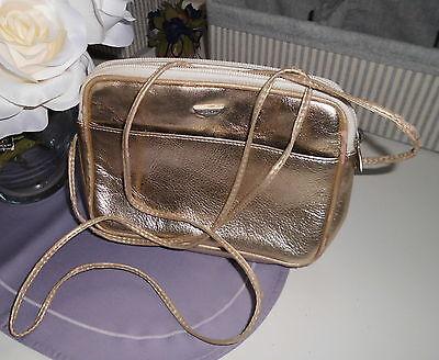 Damen-Handtasche L. Credi / BAG goldfarben