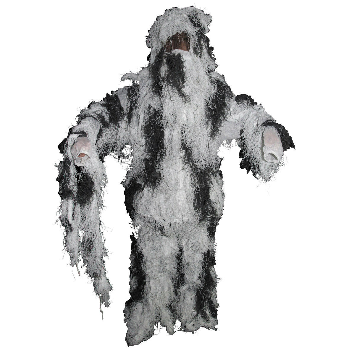 Ghillie Army Yowie Camouflage Suit Airsoft Combat Sniper Hunting Snow Camo M-XXL