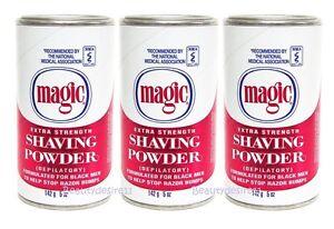 3 X Magic Shaving Powder No Razor Hair Removal Extra Strength 142gm Ebay