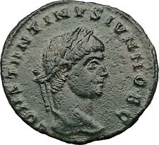 Constantine II Jr Constantine the Great  son  Ancient  Roman Coin Wreath i31542