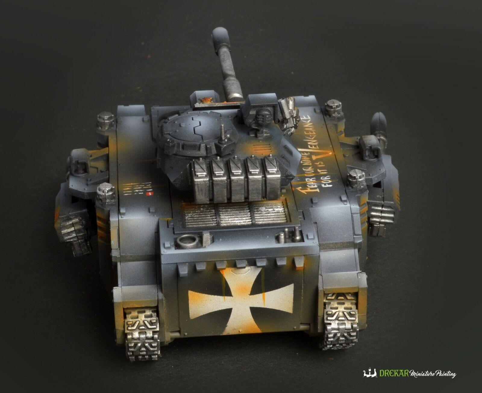 Projoator Negro Templarios Warhammer 40K   Pro Pintura de comisión