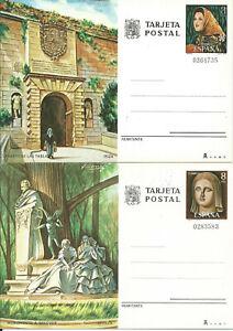 Entiere-Postal-Edifil-117-118-Tourisme-Ibiza-Seville-1978