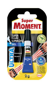 super moment ultra gel flexible super glue strong instant adhesive pattex ebay. Black Bedroom Furniture Sets. Home Design Ideas