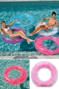 Feathers Inflatable Swimming Float Pool Summer Water Play Outdoor Women Games