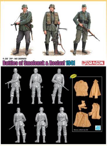 Dragon 6791-1//35 WWII Figurenset Battles Of Smolensk /& Roslavl 1941 Neu