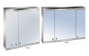 Stainless Steel Bathroom Mirror Cabinet