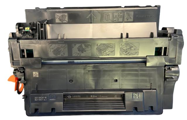 Genuine HP CE255A Black Original Toner Cartridge 55A New/Sealed!
