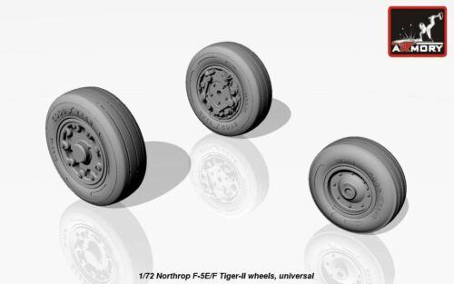 ARMORY 1//72 Northrop F-5E//F-5F Tiger II Roues # 72309