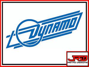 Dynamo Logo Sticker in Blue