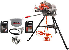 Reconditioned Ridgid 300 Pipe Threader With Ridgid Accessories And Oil
