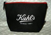 Kiehl's Black Cosmetic Bag New..