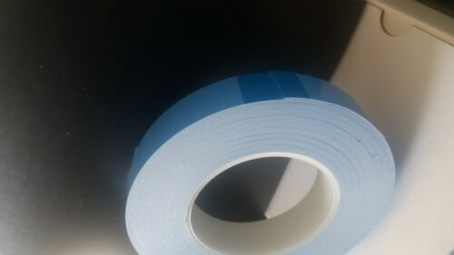 Double sided sticky foam 1 inch wide 1mm thick