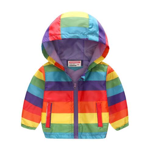 Baby Kids Boys Girls Warm Cartoon Hooded Coat Jacket Animal Winter Outwear Tops