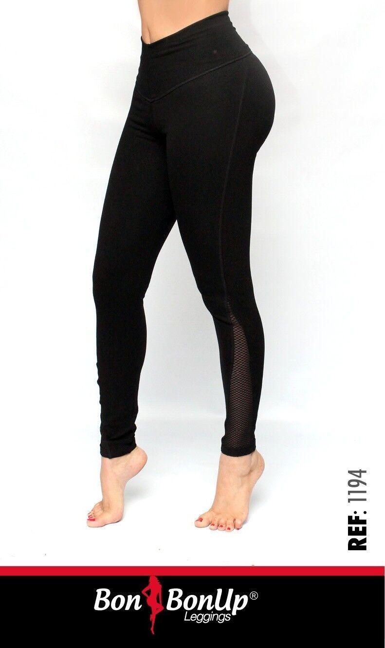 Bon Bon Up Women's Leggings with Internal Body Shaper ButtLifter Levantacola1194
