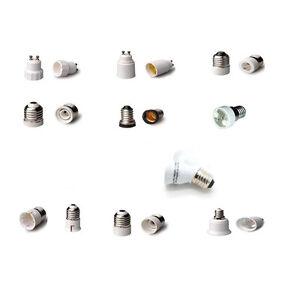 Lampensockel-E14-E27-auf-Gu10-G9-Leuchtmittel-Adapter-Konverter-Gluehbirne-LED