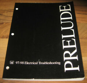 1997-1998 HONDA PRELUDE ETM Electrical Troubleshooting ...