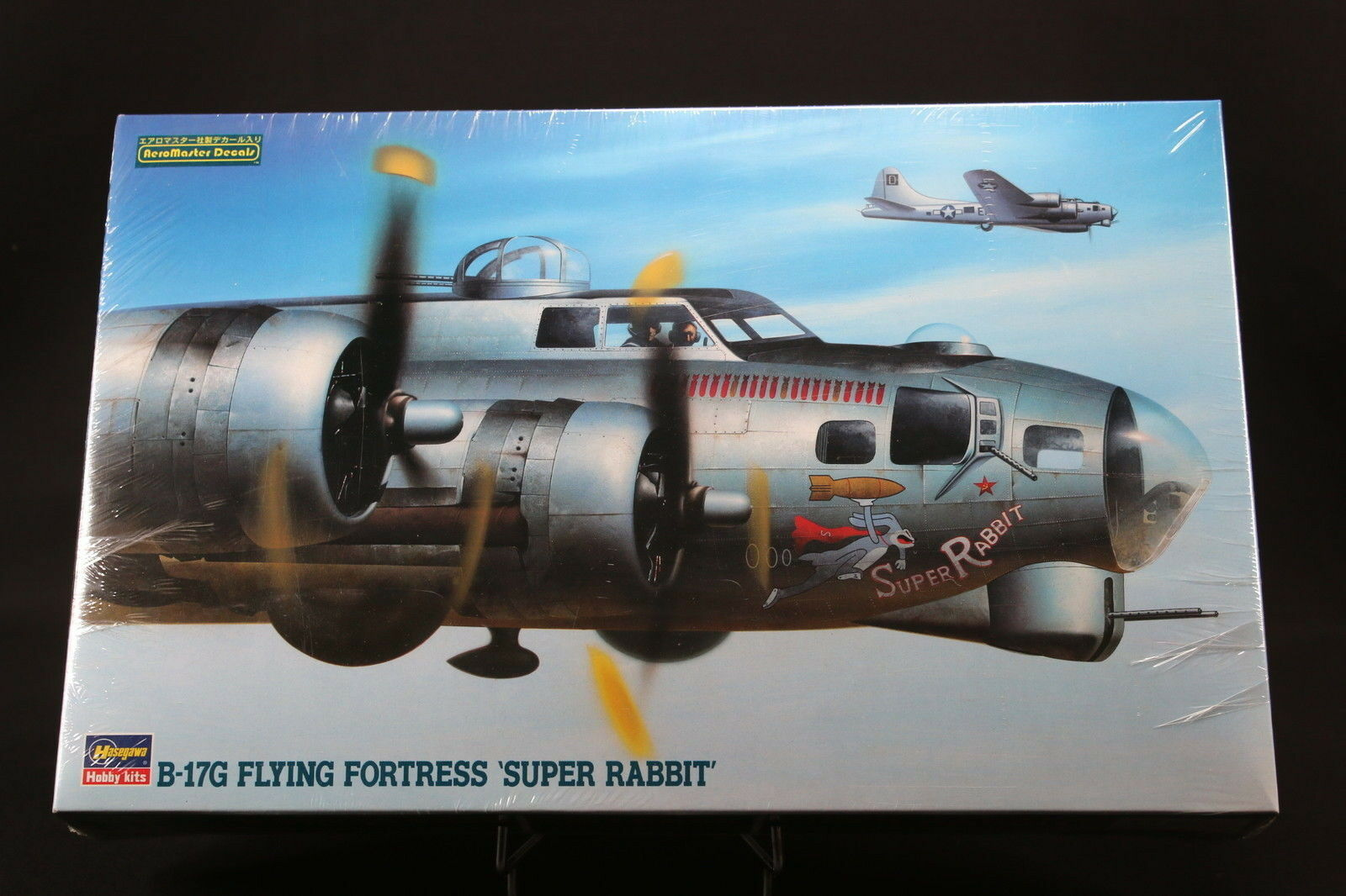 XM126 HASEGAWA 1 72 maquette avion 04066 B-17G Flying Fortress Super Rabbit