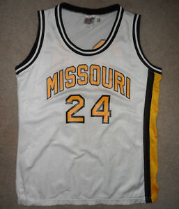new concept 44a2b a9f9c Details about Vtg GAME WORN MISSOURI MIZZOU TIGERS #24 Rawlings BASKETBALL  JERSEY Ladies 38