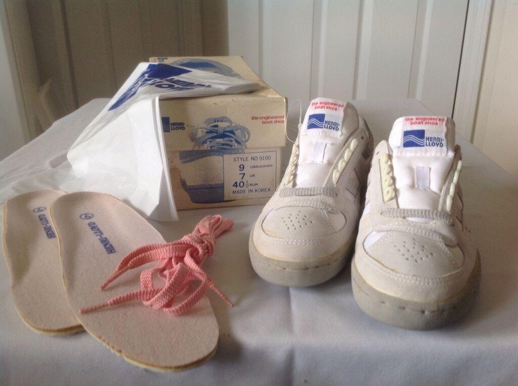 qualità di prima classe HENRI-LLOYD bianca, Lace-Up, Boat scarpe, Donna's Dimensione Dimensione Dimensione 9, NWB  risparmia fino al 30-50% di sconto