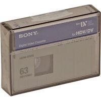 1 Sony Hdm-63vg Hd Tape For Hdr-hc7 Hc1 Fx7 Z7u Fx1 V1u Fx1000 Camcorder