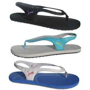 Puma Epic Sandalen Zehentrenner Damen Schuhe Synthetik Gummi 353227