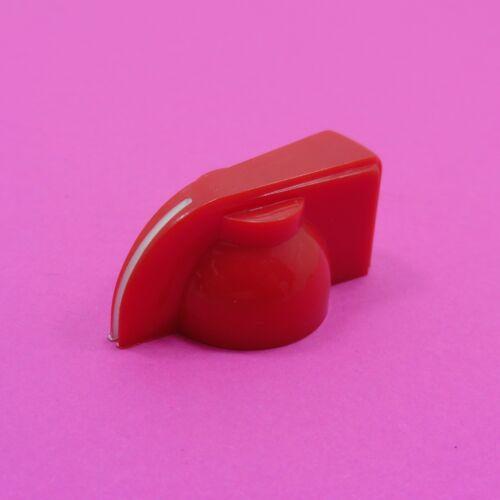 Perilla del potenciómetro 6 mm Eje Agujero Plástico Olla Colores Tapa de control de volumen rotativo