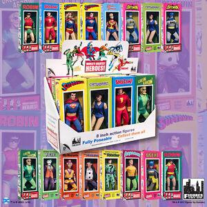 Dc Comic figurines rétro de 8 pouces dans le style Mretro: ensemble des 16