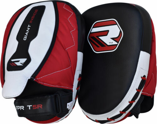 RDX MMA Boxing Focus Pads Hook and Jab Mitts Thai Kick Pads Curved Gloves CA