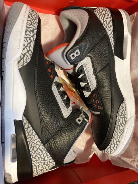 2018 Nike Air Jordan 3 Retro OG Black
