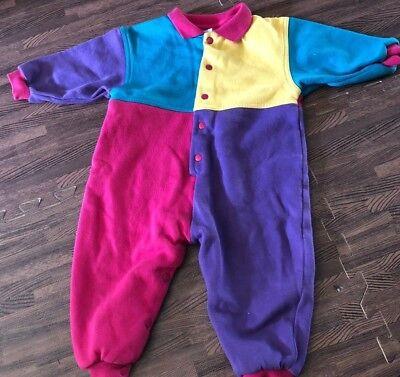 Acquista A Buon Mercato Anni 80 One Piece Baby Rosa Viola Verde Colore Giallo Blocco 18 Mesi Luminoso Per Soddisfare La Convenienza Delle Persone