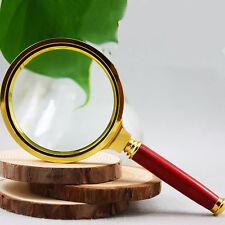 10 Fach 90 mm Lupe Leselupe Vergrößerung Vergrößerungsglas Lesehilfe Handlupe