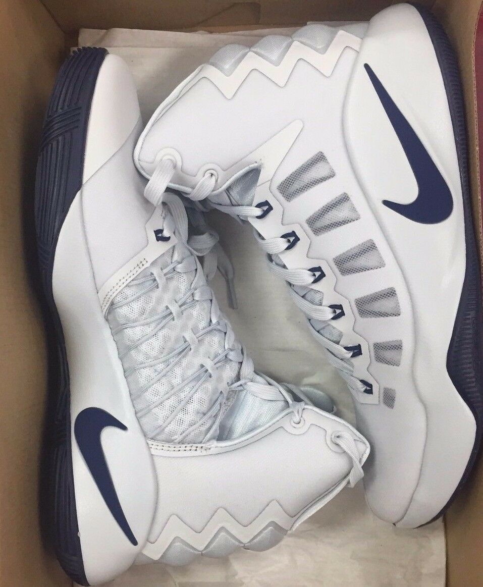 NIKE HYPERDUNK 2018 PLATINUM NAVY ZOOM BASKETBALL 844359-030 Mens 9-13  New shoes for men and women, limited time discount