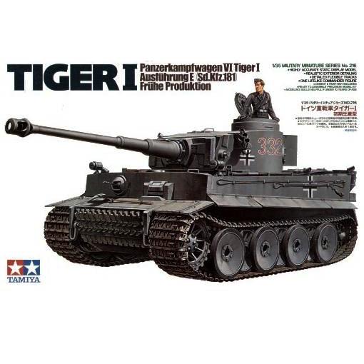 Tamiya Tamiya Tamiya 35216 German Tiger I Early Production 1 35 e8f165