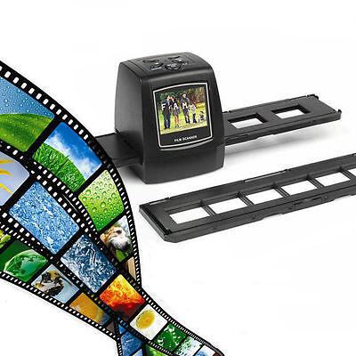 """SainSonic Scanner Scanneur Photo Film Diapo Diapositive et Négatif 2.3"""" 5MP USB"""