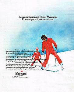 PUBLICITE-ADVERTISING-014-1973-MOSSANT-vetement-de-sport-de-ski-2