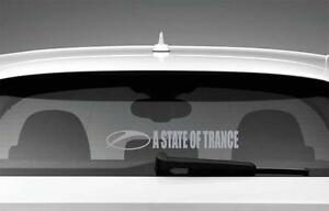 A State of Trance Armin Van Buuren Car Sticker Styling Decal Silver