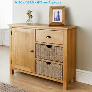 Image Is Loading Luxury Oak Sideboard Fine Crafted Rustic Furniture Two